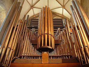 The Grove Organ At Tewkesbury Abbey